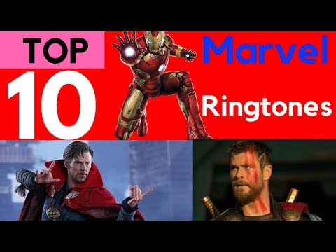 Top 10 marvel hero ringtones ..by your class download them now