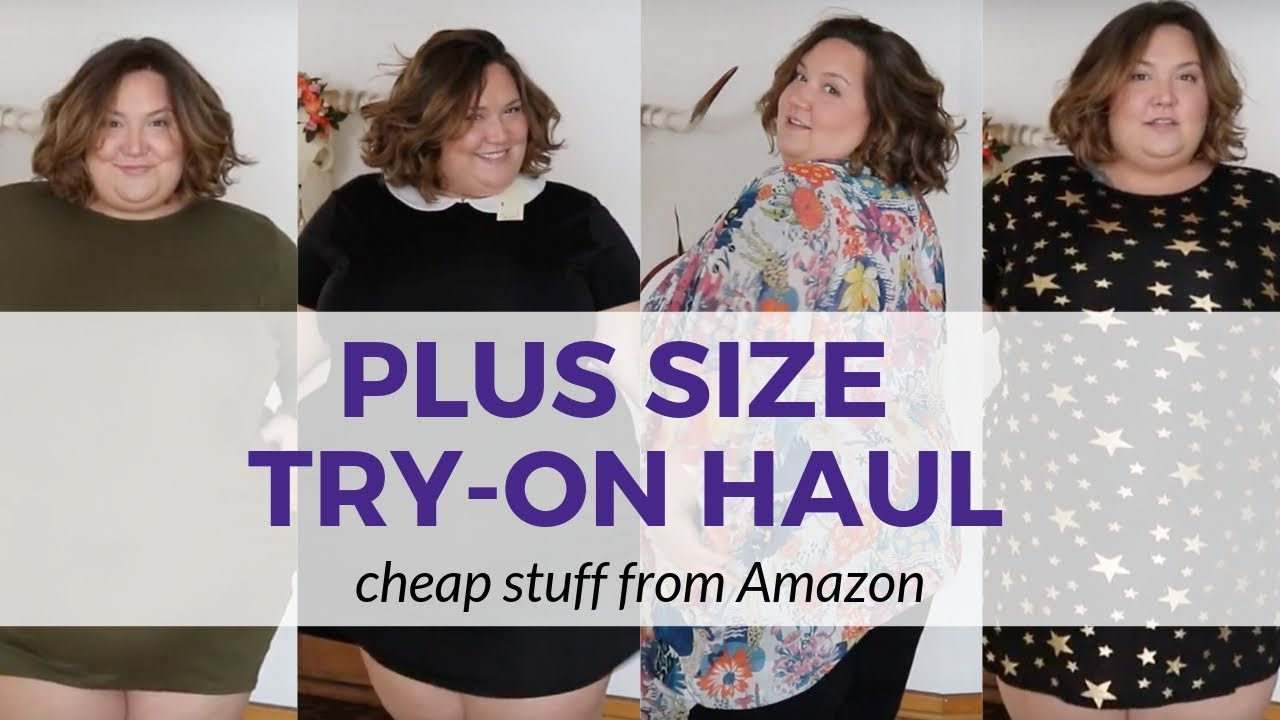 af4812067fc CHEAP PLUS SIZE FINDS From Amazon - YouTube