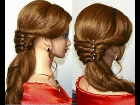 Wedding Bridal Pakistani Indian New Fashion Hair Cuts Style For Womens Girl 2017 2018