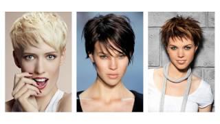 Divatos rövid női frizurák