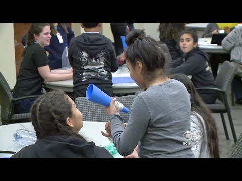 Student Engineers Talk Rocket Science in Silicon Valley