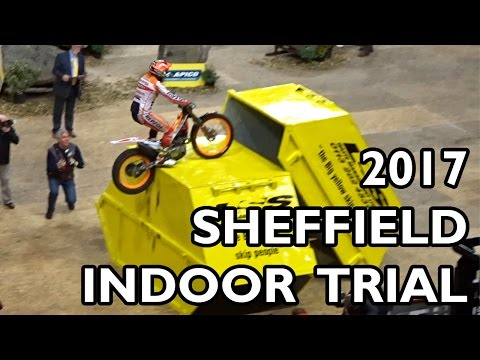 Sheffield Indoor Motorbike Trials 2017