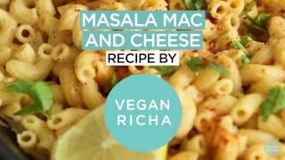 Masala Mac and Cheese - Spiced Vegan Mac Cheese - Vegan Richa