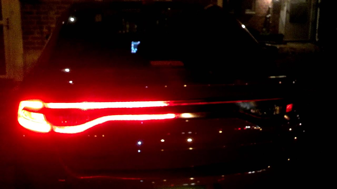 2013 Dodge Dart Custom Tail Lights Youtube