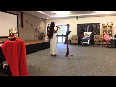 Jessica Mae Tuzon Collins 12 Y.O.Singing Dalmatian Cradle S