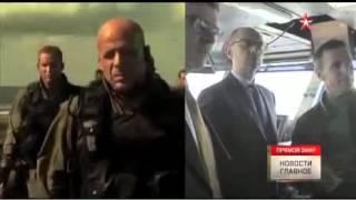 Яценюк почувствовал себя «крепким орешком» на авианосце США