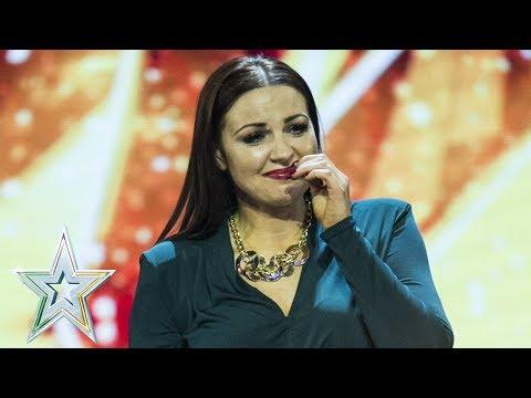 Louis Walsh's golden buzzer Linda sings The Power Of Love | Semi-Final 1 | Ireland's Got Talent 2018