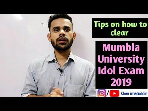 Mumbai University IDOL Exam 2019