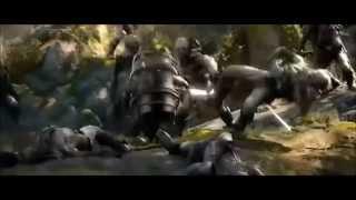 THE HOBBIT - THE DESOLATION OF SMAUG (2013) - Bombur Funny Barrel Scene - HD