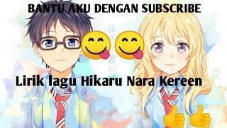 Lirik Lagu Goose House Hikaru Nara Opening Shigatsu Wa Kimi No Uso Youtube