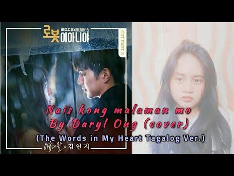 Nais Kong Malaman Mo - Daryl Ong (Cover / Lyrics) (The Words in My Heart Tagalog Ver.)