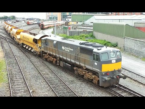 Irish Freight & PWD Trains - Part 7 (Class 071)