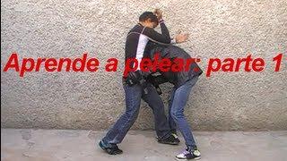 Como pelear parte 1 de 3 como golpear con los puños y codos