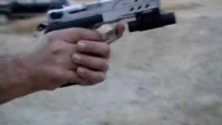 zigana sport tisas 9mm pistol handgun laser tabanca shoot