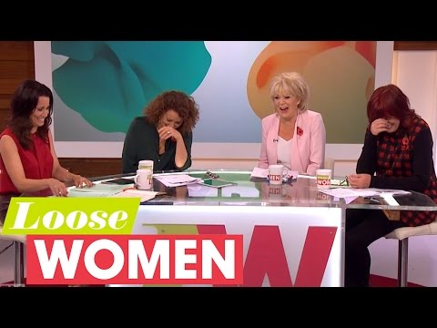 Loose Women Fall About Laughing Whilst Discussing Disappointing Celebrities  Loose Women
