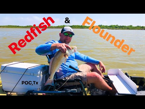 Fishing Port O'Connor,Texas Ep.1 / REDFISH & FLOUNDER On DownSouth Lures