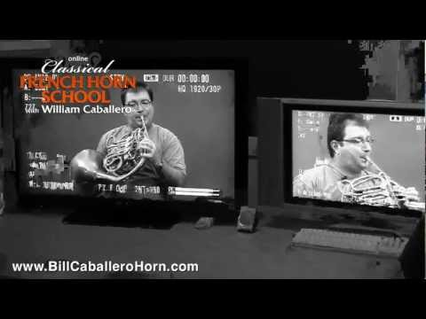 French Horn Lessons Online with William Caballero