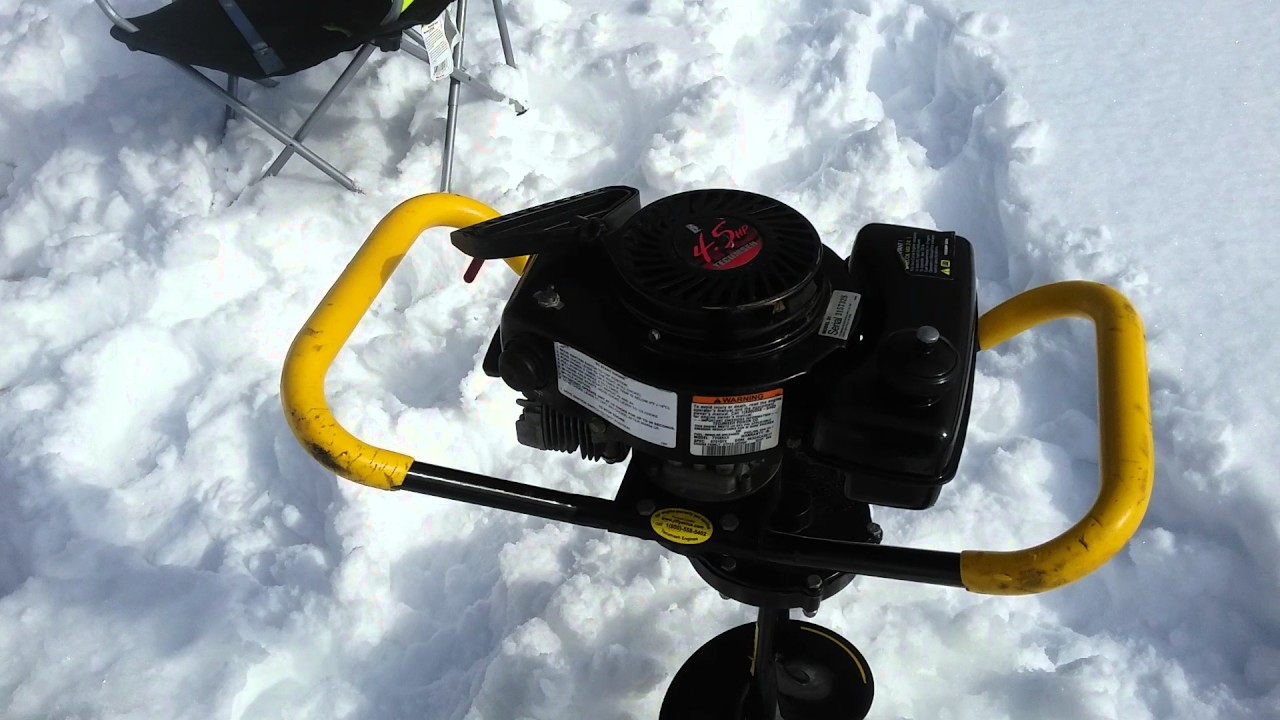 2004    Jiffy Model 31 Legend XT ice fishing auger with 45HP