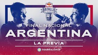 La Previa de la Final Nacional Argentina 2020 - Red Bull Batalla de los Gallos