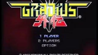 Playthrough of Gradius Gaiden (PSP) - 06.05.2015