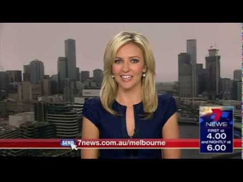 [BLOOPER] Seven News Melbourne - 1.00pm News Update [3.02.14]