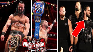 WWE WrestleMania 37 6th April 2021 Highlights Edge Wins Universal Title Drew Wins Rollins SHIELD