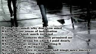 The Magnetic Fields - No One Will Ever Love You (Lyrics)