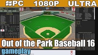 Out of the Park Baseball 16 gameplay HD - Baseball Manager [PC - 1080p]