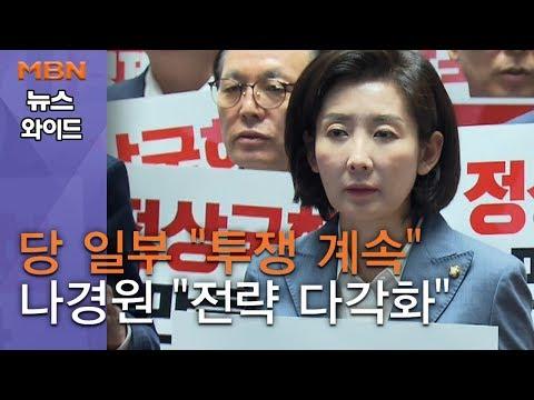 """[백운기의 뉴스와이드] 당 일부 """"투쟁 계속"""" 나경원 """"전략 다각화""""…한국당, 국회 복귀 딜레마?"""