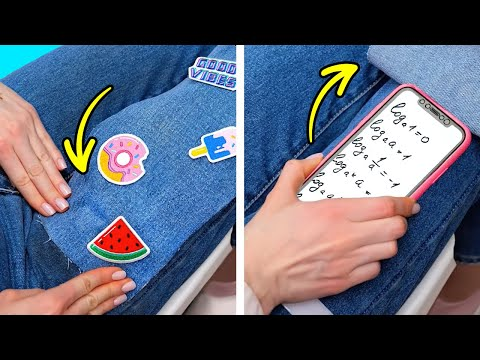 HOW TO CHEAT AT FINAL EXAMS || Cool School Supplies Crafts And Funny School Pranks You Have To Try