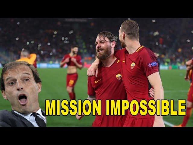 Mission Impossible Roma Barca E Real Juve