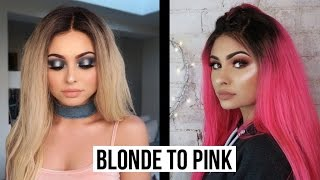 MY FAVOURITE WIG (DYING A WIG AT HOME) | Talia Mar