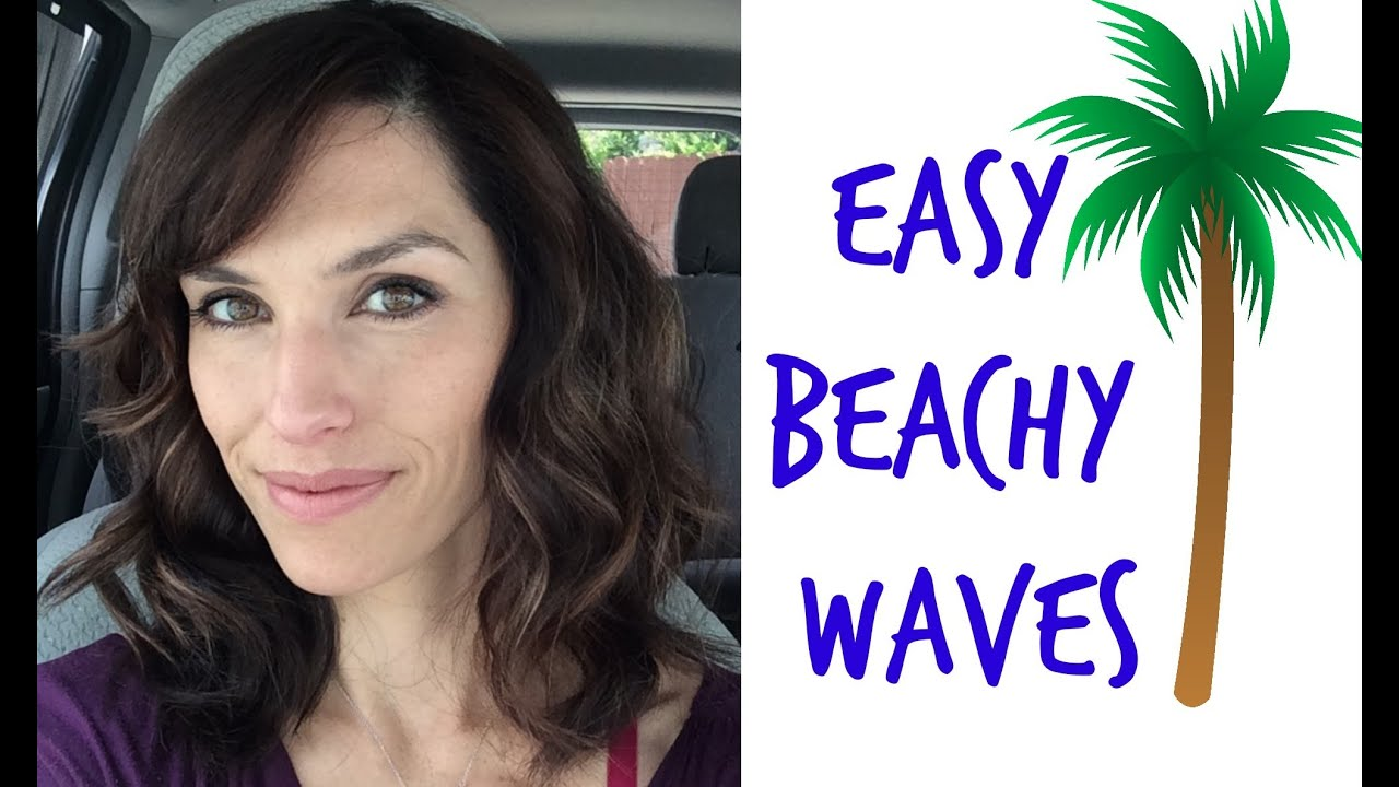 beachy waves medium length hair