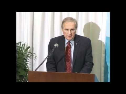 Keynote Speech by The Honourable Roy J. Romanow (Part 1 of 3)