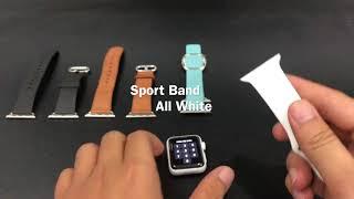 Môt vài kinh nghiệm khi mua dây Apple Watch.