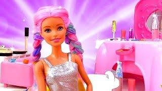 Новая прическа Барби. Как сделать красивую прическу? Салон красоты