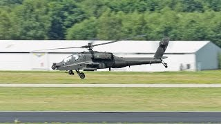 HIGH SPEED Low Pass APACHE at Eindhoven
