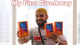 First Ever Giveaway.. Tecno Spark 3 Pro Unboxing..  #2 Giveaway