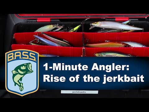 1-Minute Angler: Rise of the jerkbait