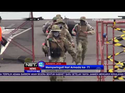 Kompetisi Airsoft Gun TNI vs Warga Sipil - NET - 12