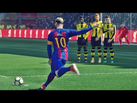 PES 2017 - Free Kick Compilation #4 HD 1080P 60FPS
