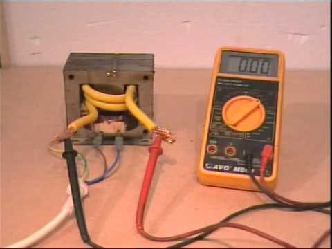 Spot Welder Mk 1 Wmv Youtube