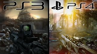 Killzone - PS3 vs PS4