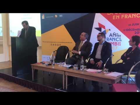 Conférence de presse : Saison de la Colombie en France
