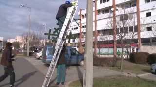 Télen is sok munka akad Paks város közterületein
