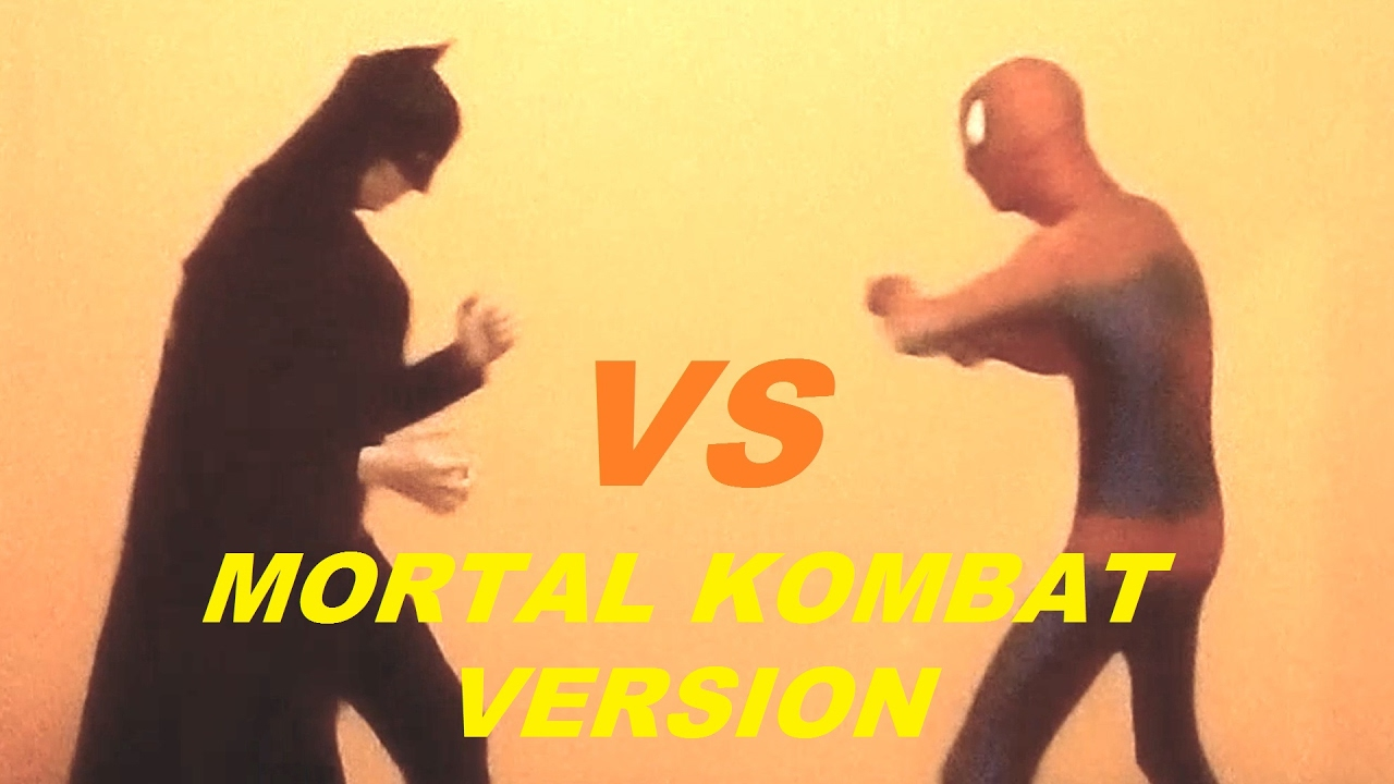Download Spiderman VS Batman Superheroes in real life Mortal Kombat version