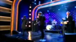 Peter Bjorn and John with Victoria Bergsman - Young Folks on Late Nite with Conan O