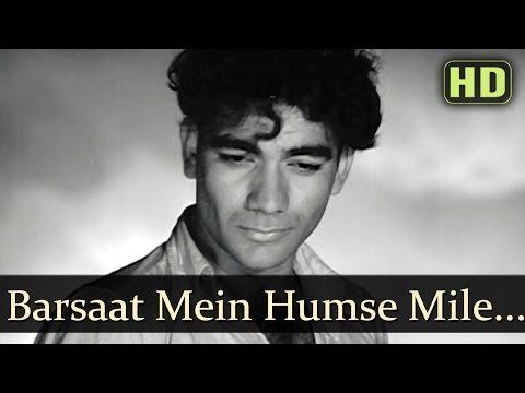 Barsaat Mein Humse Mile - Barsaat - Prem Nath - Nimmi  - Old Bollywood Songs - Lata Mangeshkar Hits