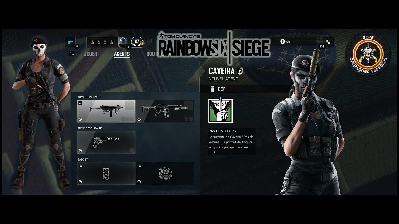 Tom Clancyu0027s Rainbow Six Siege Caveira CORE