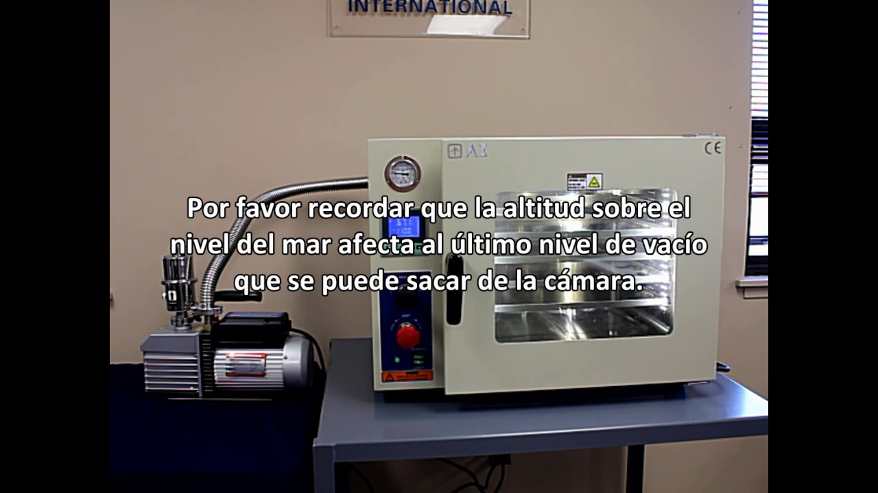 Ai AccuTemp 19 Cu Ft Vacuum Oven Installation Calibration Spanish Version
